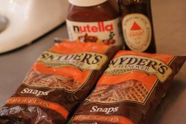 Snyders Snaps for Boozy Cupcakes