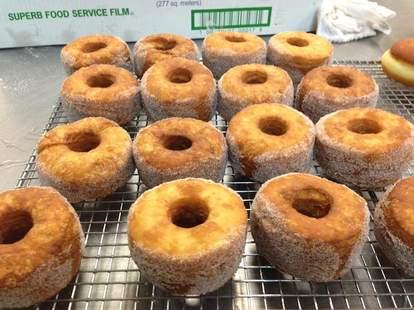 Glazed and Confused donut/croissant hybrid -- denver