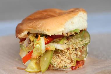 Big Kahuna Spamwich at Burke's Bacon Bar in River North