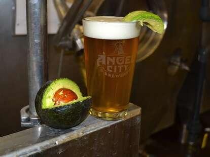 Avocado Beer at Angel City, Los Angeles