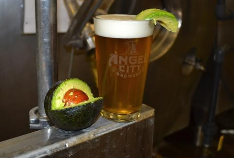 Avocado Beer at Angel City, Los Angeles