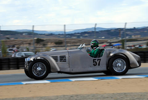 Sweet car at Laguna Seca