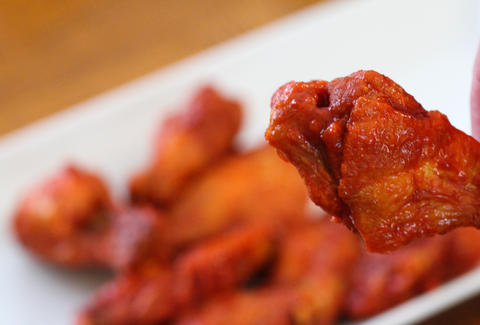 Vernon's Grill wings