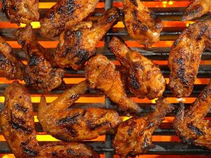 Special Grilled Wings, Sports Grill - Miami