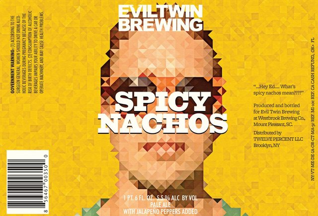 Evil Twin Brewing tests laws of nature with Spicy Nachos beer