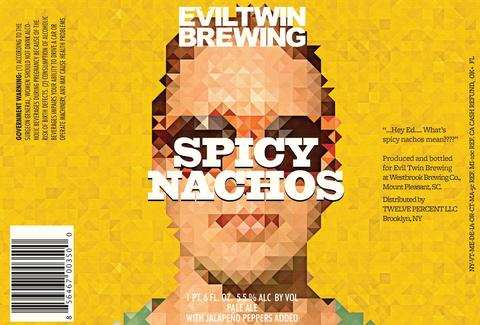 Evil Twin Spicy Nachos Beer