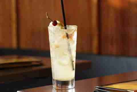 Salted Lime Vodka Collins at Whiskey Soda Lounge