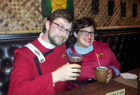 Star Trek bar crawl