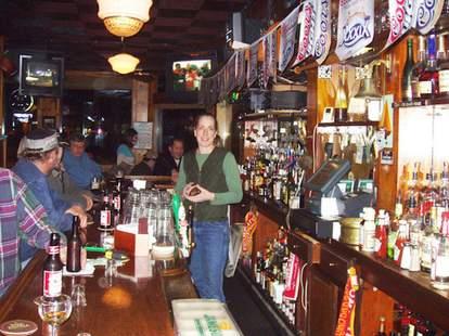 The Corner Bar interior