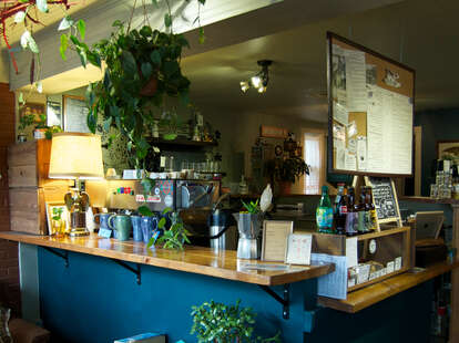 counter at Weathervane Cafe