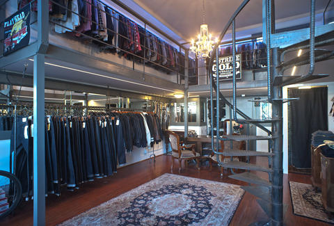 Self Edge Denim-Store Interior-San Francisco