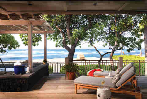 Four Seasons Resort Hualalai deck