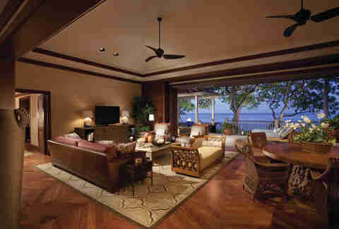 Four Seasons Resort Hualalai interior