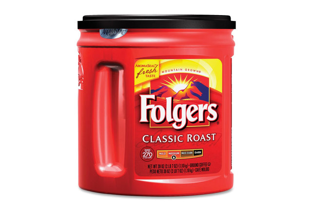 Whatever, Starbucks: Folgers remains the most popular coffee brand in America