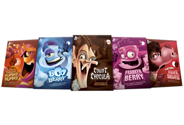 All five General Mills cereal monsters are coming back!