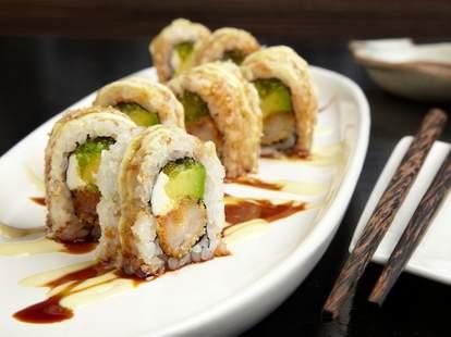 Coast sushi bar chicago