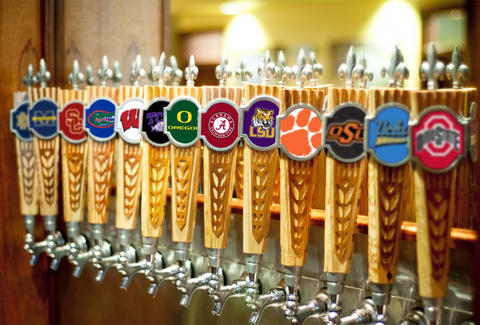 College football taps
