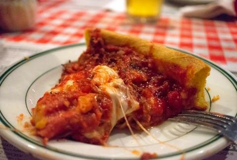 Gino's East Pizza Chicago