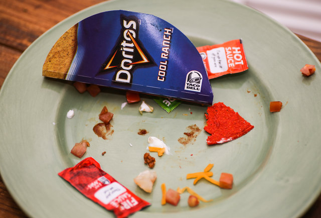 Why we\'re not exactly crazy about the new Taco Bell Fiery Doritos Locos Taco