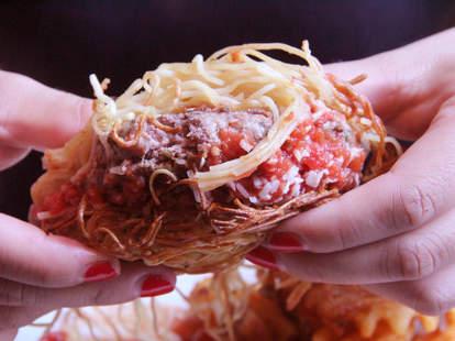 PYT's Spaghetti Burger