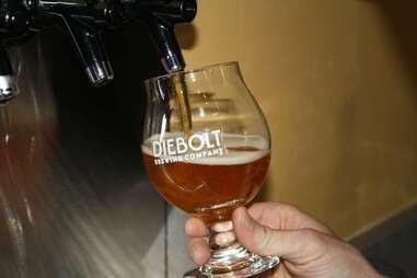 beer at Diebolt Brewing