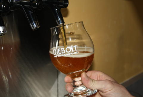beer at Diebolt Brewing