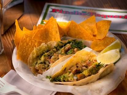 Pinche Taqueria tacos - NYC
