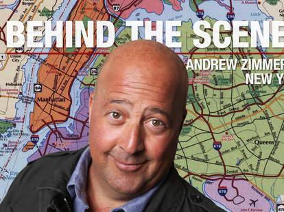 Andrew Zimmern NYC map