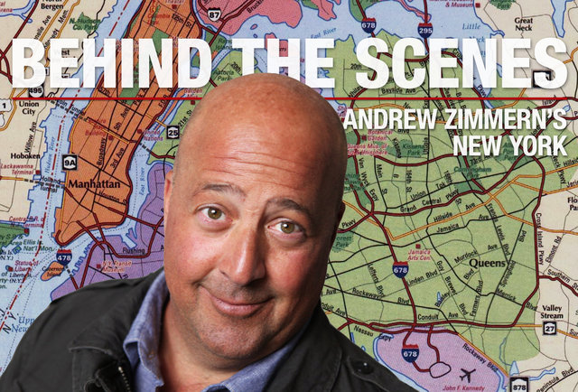 Behind the Scenes: Andrew Zimmern\'s NYC