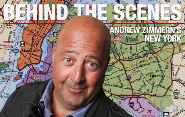 Behind the Scenes: Andrew Zimmern's NYC