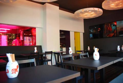 Interior of Yumcha Heroes