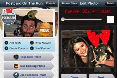 Postcard on the Run App