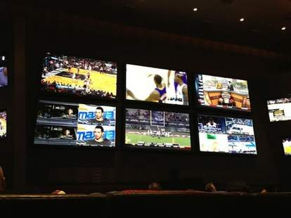 Aria Sports Book - Las Vegas