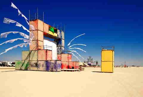 Tetris Camp at Burning Man