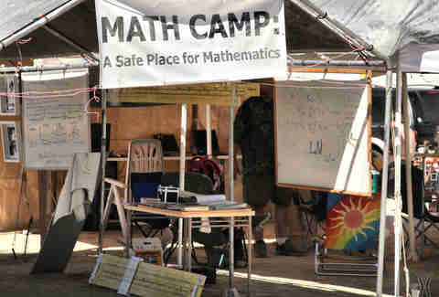 Math Camp at Burning Man