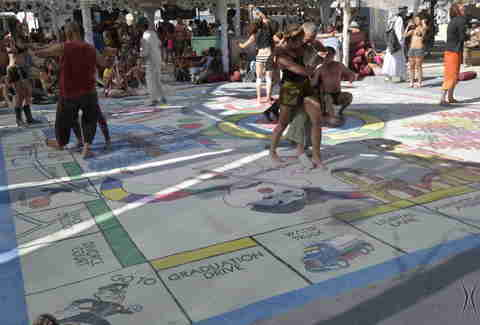 Monopoly at Burning Man