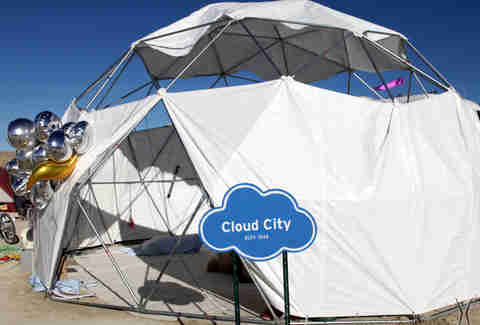 Cloud City at Burning Man
