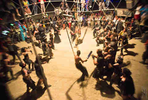 Thunderdome at Burning Man
