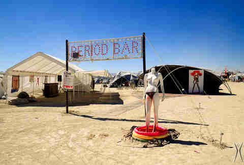 Period Bar at Burning Man
