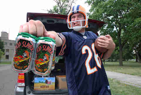 best beers for football tailgates