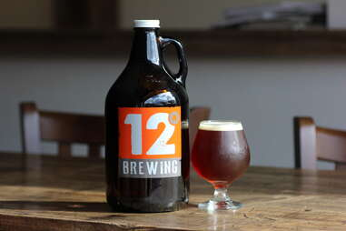 beer at 12 Degrees Brewing