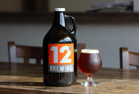beer at 12 Degrees Brewing