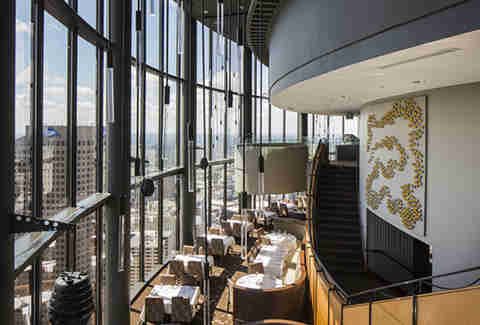 Sundial Restaurant, Bar & View