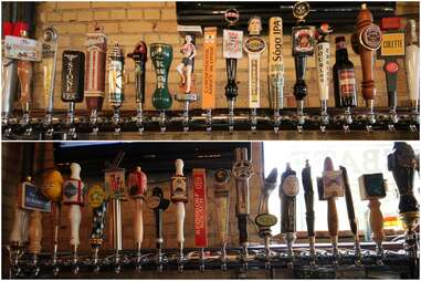 Beer at Devil's Advocate in Minneapolis, Minnesota.