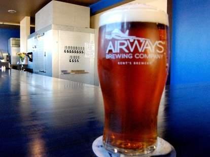 Beer from Airways Brewery & Taproom
