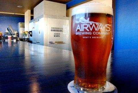 Beer from Airways Brewery & Taproom
