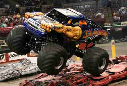Monster Trucks - labor day bucket list