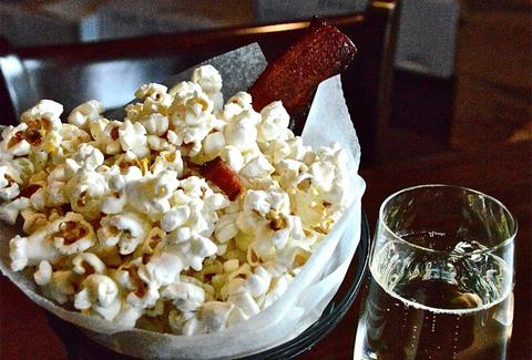 MAX's Wine Dive bacon popcorn