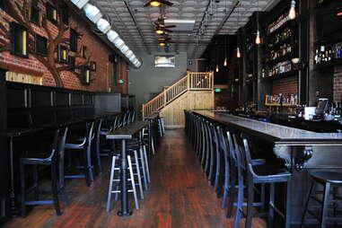 bar at Historian's Ale House