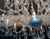Chandelier at Volterra in Kirkland
